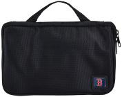 MLB Boston Red Sox Travel Toiletries Organiser, 21 x 20cm x 3.8cm , Black