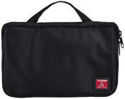 MLB Arizona Diamondbacks Travel Toiletries Organiser, 21 x 20cm x 3.8cm , Black