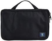 MLB Seattle Mariners Travel Toiletries Organiser, 21 x 20cm x 3.8cm , Black