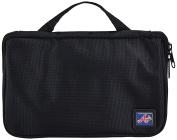 MLB Atlanta Braves Travel Toiletries Organiser, 21 x 20cm x 3.8cm , Black