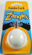 Zangles Baseball Combo Lock for Luggage or Sports bag 7cm long