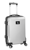 MLB Los Angeles Dodgers Carry-On Hardcase Spinner, Silver