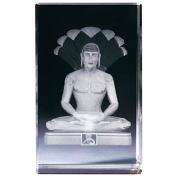 """Classico """"Vishnu"""" 3D Cube, Glass, Transparent"""