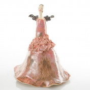 Ballerina Angel   Beautifully Made Ceramic Ornament