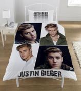 Justin Bieber 'Montage' single Duvet Set, multicolour