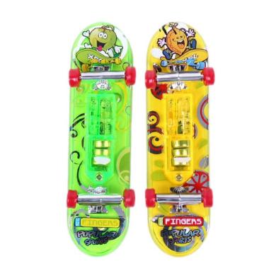 Mini Skateboard Toys - TOOGOO(R) 2 x Mini Skateboard Toys Finger Board Tech Deck Boy Kids Children Gifts