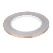 5mm X 30 Metre Guitar Shielding Copper Foil Conductive Tape Self Adhesive - Soldering, Paper Circuits, Electrical Repairs, Grounding