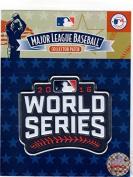2016 WORLD SERIES PATCH JERSEY EMBLEM SOURCE EMBOSSTECH (LIQUID PLASTIC) MLB