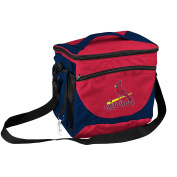 MLB St. Louis Cardinals 24 Can Cooler, Team Colour, Small