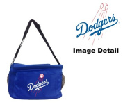 Los Angeles Dodgers MLB Team Logo 6-Sports Drink Beer Water Soda Beverage Can Insulated Picnic Outdoor Party Beach BBQ Kooler Cooler Lunch Bag Tote - 6-Pack Bag