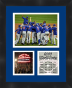 2016 World Series Chicago Cubs Photo Collage Framed 11X14