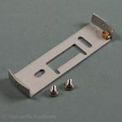 Lighting Fixture Ceiling Plate Bracket Plate Earthed 97mm with Nickel Screws