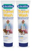 2x Dr. Beckmann Non-Bio Travel Wash 100ml