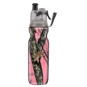 O2COOL® ArcticSqueeze® Insulated Mist 'N Sip® Squeeze Bottle 590ml, Mossy Oak Break-Up Pink®