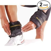 Gold's Gym Adjustable Pair Wrist/Ankle Weights - 2.3kg. Pair