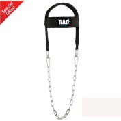 RAD Adjustable GYM Weight Lifting Head Neck Harness Dipping Neck Builder Belt Chain Black