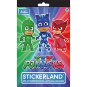 PJ Masks Stickerland Pad 4/Pages
