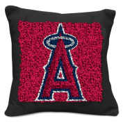 MLB Los Angeles Angels Pillow Latch Hook Kit, 23cm