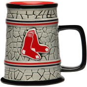 MLB Boston Red Sox Stone Stein, One Size, Multicolor
