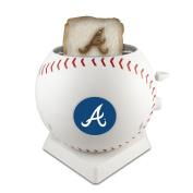 MLB Atlanta Braves Pangea Brands ProToast MVP Toaster, White