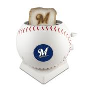 MLB Milwaukee Brewers Pangea Brands ProToast MVP Toaster, White
