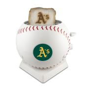 MLB Oakland Athletics Pangea Brands ProToast MVP Toaster, White