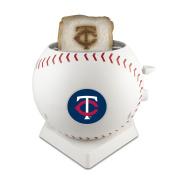 MLB Minnesota Twins Pangea Brands ProToast MVP Toaster, White