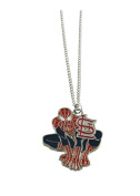 St Louis Cardinals Spiderman Pendant Silver Chain Necklace Jewellery Gift MLB