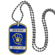 Milwaukee Brewers Tag Necklace