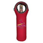 MLB St. Louis Cardinals Wine Tote, Red, 750ml