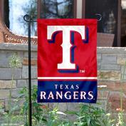 Texas Rangers Double Sided Garden Flag