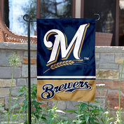Milwaukee Brewers Double Sided Garden Flag