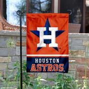 Houston Astros Double Sided Garden Flag