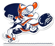 STEEL Detroit Tigers Catcher Kitty 30cm Sign