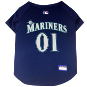 Seattle Mariners Dog Jersey Large