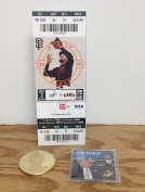 Vin Scully Legendary Announcer Commemorative Coin AND Season Ticket Holder HARD TICKET LAST GAME ANNOUNCED LA Dodgers vs. SF Giants