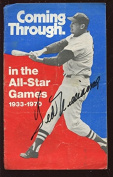1971 Chrysler Coming Through Booklet Autographed By Ted Williams Hologram