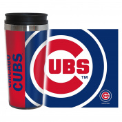 Chicago Cubs Travel Mug - 410ml Full Wrap - Hype Style