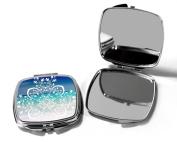 Beach Compact Pocket Make Up Mirror