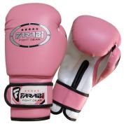 Junior kids 180ml Pink Boxing Gloves Sparring , training bag mitt gloves  .
