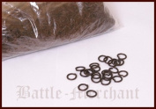 1 kg loose unvernietet Package Jump Rings 8 MM Bronzed-Chainmail in English)