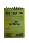 Bushcraft BCB Waterproof Field Notebook With Pencil - White