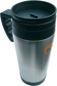 Bushcraft BCB Stainless Steel Thermal Mug - Silver, 0.4 Litres