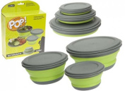 Easy Use 'POP' 3 Piece Bowl Set Easy Clean & Transport