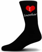 I Love Snooker Socks. Great Christmas Giftware