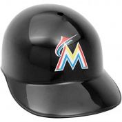 MLB Rawlings Miami Marlins Black Full Size Replica Helmet