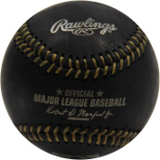 Rawlings Official Black Leather MLB Baseball