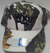 New Western Kentucky University Snow Camo Hook and loop Hat