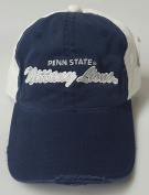 New Penn State Nittany Lions Navy & White Pre-ripped Buckle Hat