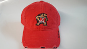 New Maryland Terps Red Pre-Ripped Buckle Hat